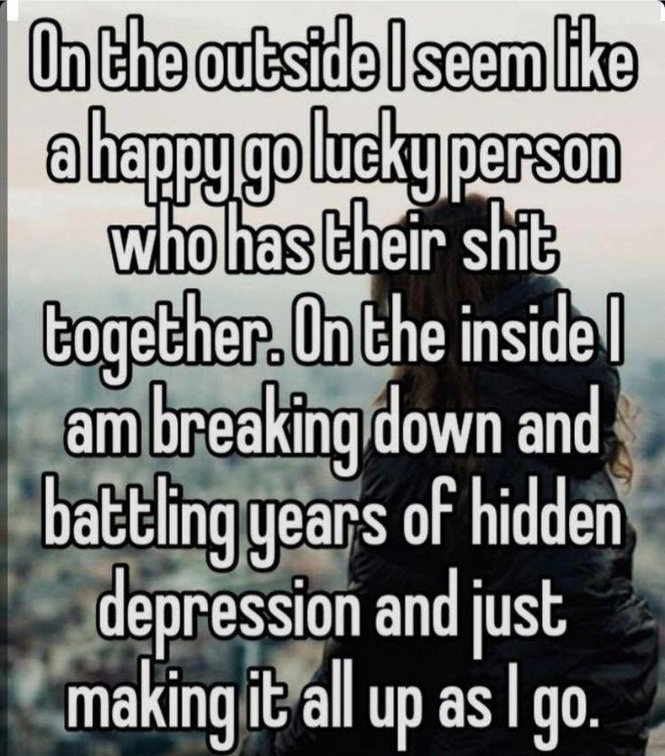 Hidden Suicidal Quotes: Pin By Jojo Madding On Depression Sucks