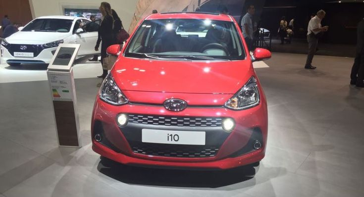 Hyundai has revealed its Grand i10 facelift (i10 in Europe) at the 2016 Paris Motor Show.