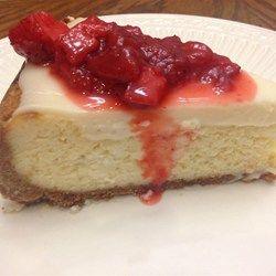 Klassieke New York Cheesecake