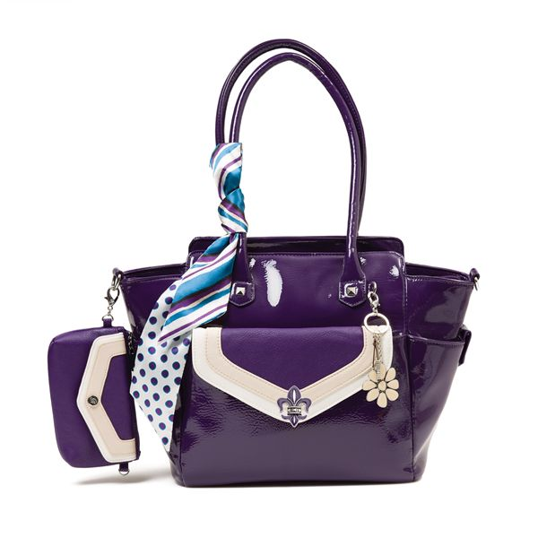 Grace Adele Designer's Pick - Sadie Shay - Love this look? Each Grace Adele Look is made up of an eye-catching combination of bag, clutch, and clip-ons to take the guesswork out of looking great.