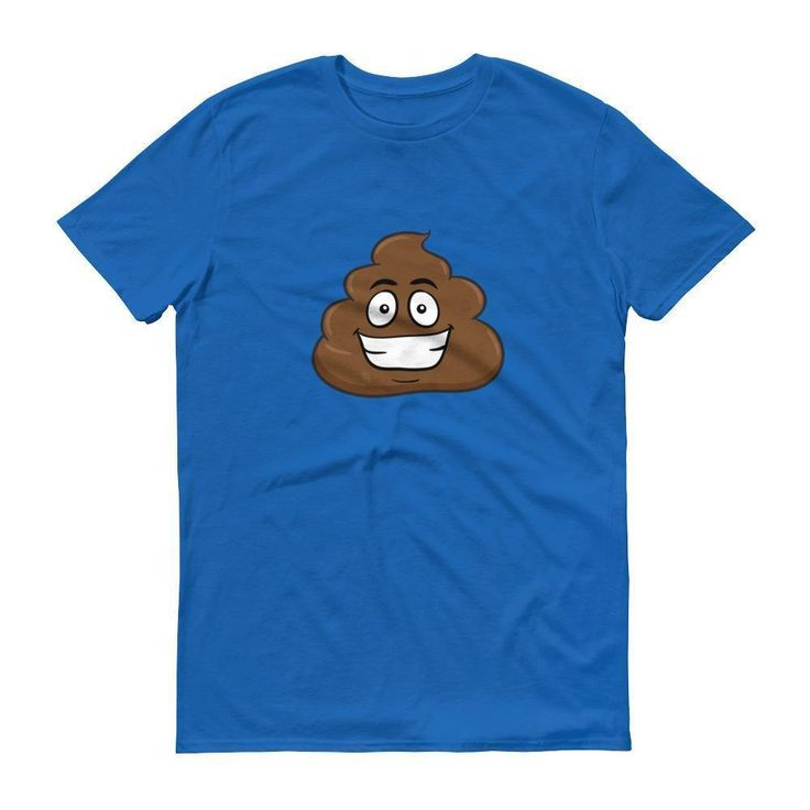 Funny Poop Emoji Shirt - creative birthday ideas for best friend