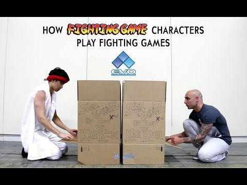 How Fighting Game Characters Play Fighting Games – EVO …