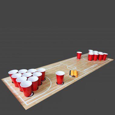 Beer Pong Spielfeld