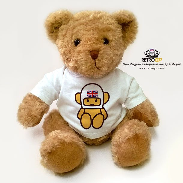 How cute is this? The Official Hesketh Racing Mascot Bear http://bit.ly/Hesketh_Bear Perfect Gift for Christmas