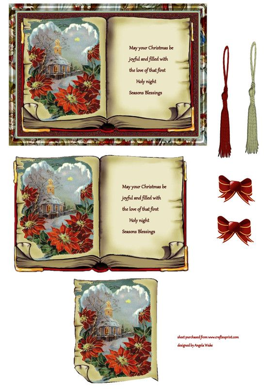 1000 images about 3 d decoupage christmas printables on for 3d xmas cards to make