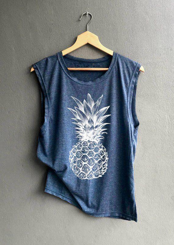 Pineapple Shirt – Aloha beaches Shirt – Pineapple Of Summer Shirt – Muscle Tank Top Womens