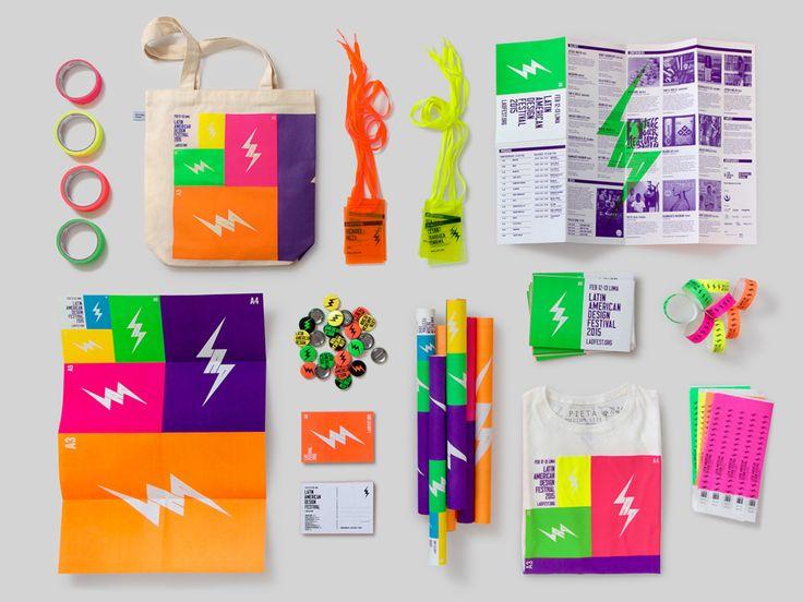 Visual identity for Latin American Design Festival by IS Creative Studio