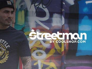 Hos #Streetman finder du fede t-shirts, sweats og bukser. Så bli'r du lidt mer' street på Vuuh.dk ;-)