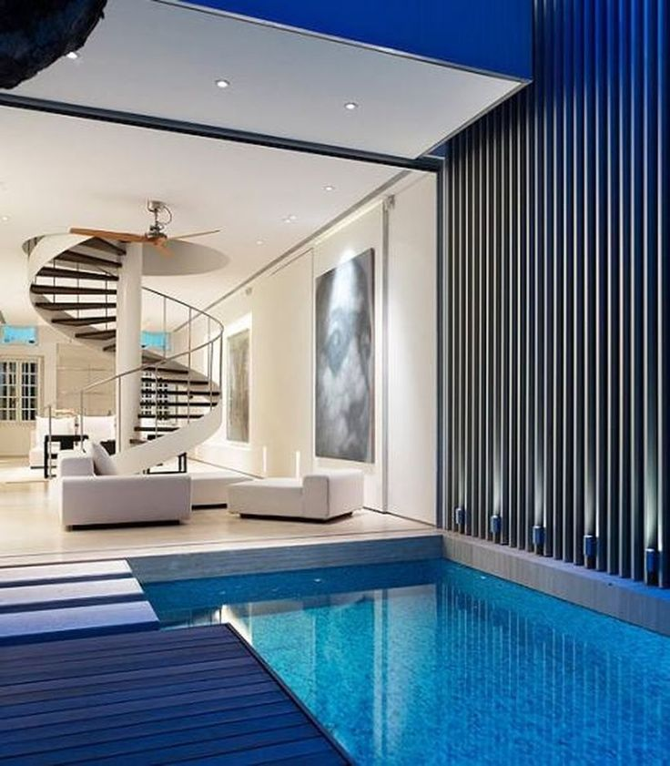100+ Amazing Small Indoor Swimming Pool Design Ideas Part 85