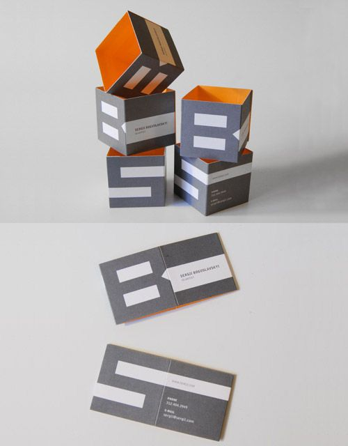 20 Folded Business Cards That Will Give You Ideas