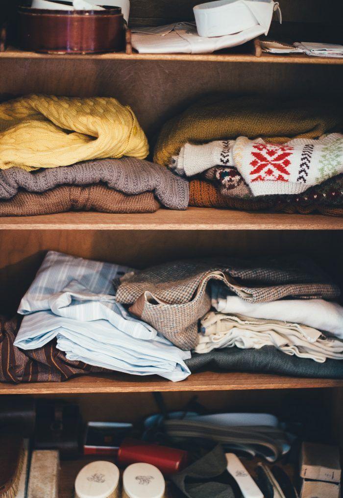 In 6 Schritten Zu Einem Ordentlichen Kleiderschrank Kleidung Aufbewahrung Upcycling