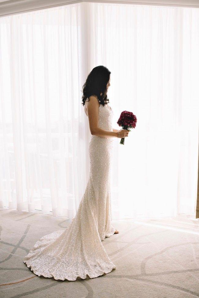 Karen Willis Holmes Anya  Wedding Dress on Sale 44% Off