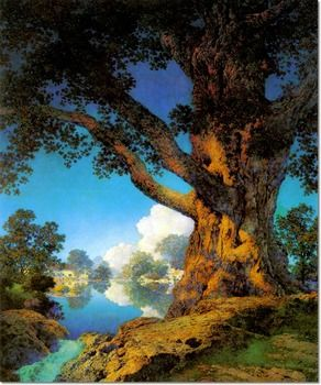 Maxfield Parrish  (1870-1966) -  Janions Maple