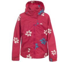 Pink Petals Rain Jacket