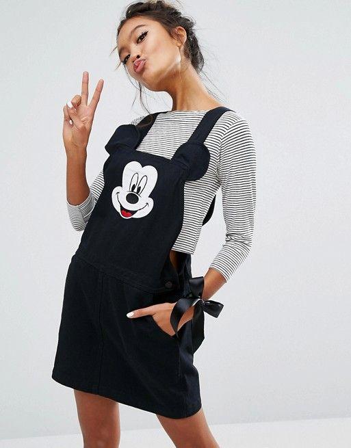 Lazy Oaf | Lazy Oaf X Disney Mickey Mouse Pinafore