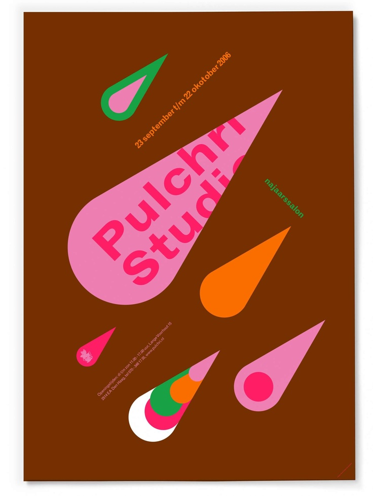 Studio Dumbar: Pulchri Studio Visual Identity