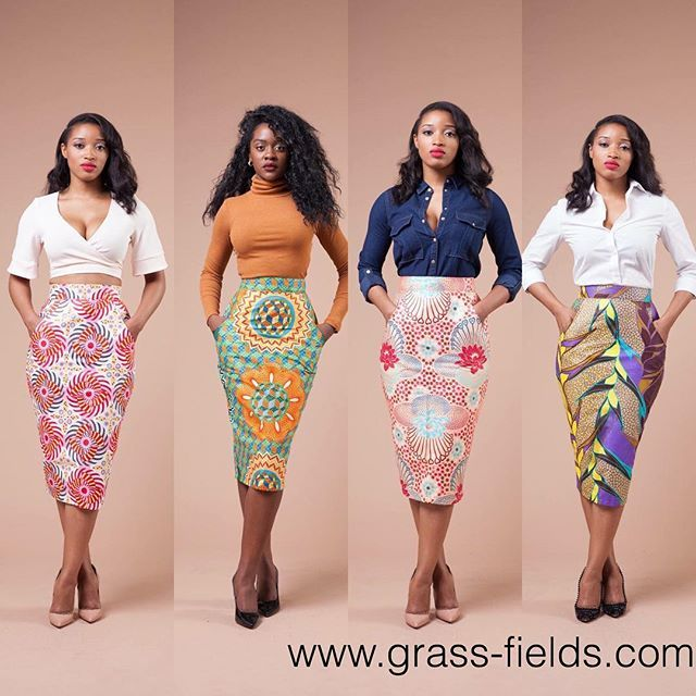 African Fashion #grass-fields