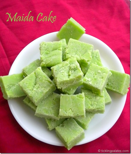 Maida Cake- this vanilla flavored yumminess is a great addition to holiday treats or a gift idea!