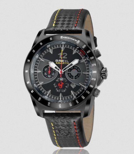 Breil orologi tw1248 Abarth Breil Cronografo antracite nero e giallo