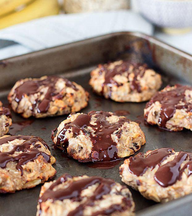 Diverse gezonde koekjes