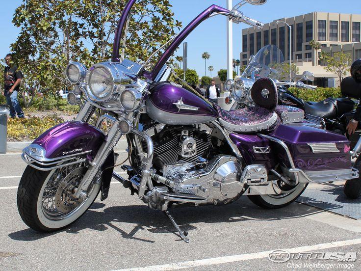 purple harley davidson motorcycle - Google Search