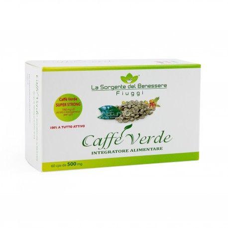 Versione in capsule di CAFFÈ VERDE Integratore Alimentare