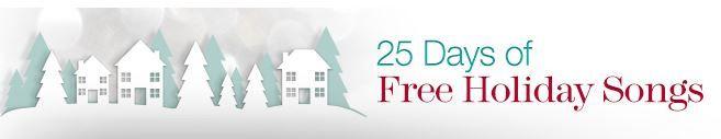 Gratis 25 días de música navideña gracias a Amazon #music #ofertasamazon #amazondeals #navidad #holiday