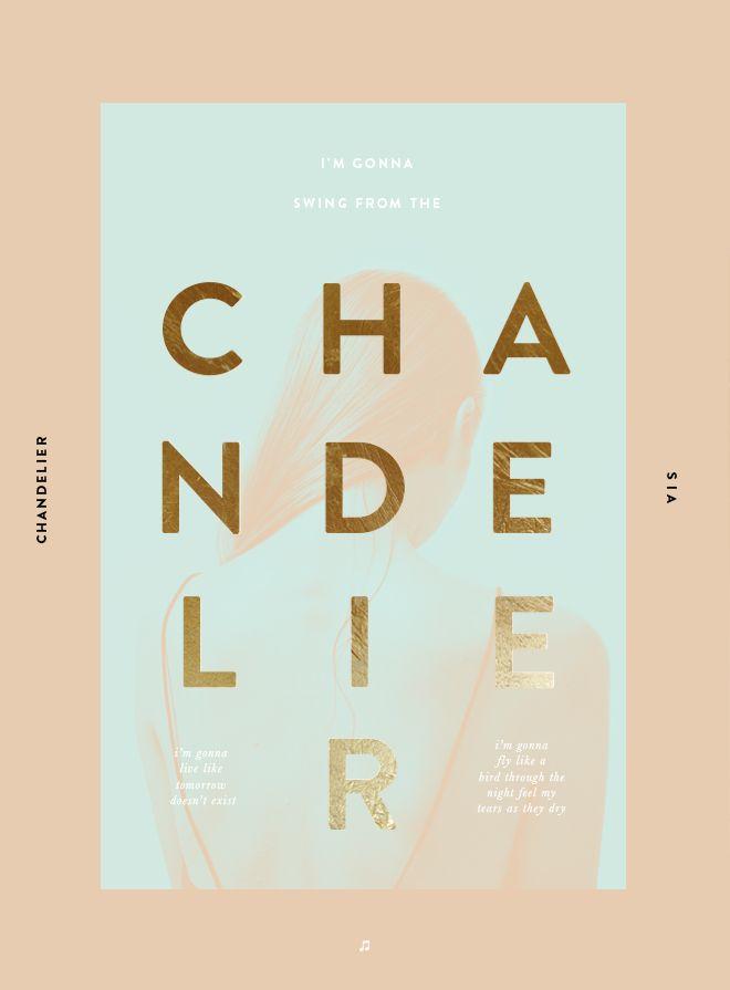 Chandelier #Design #Poster