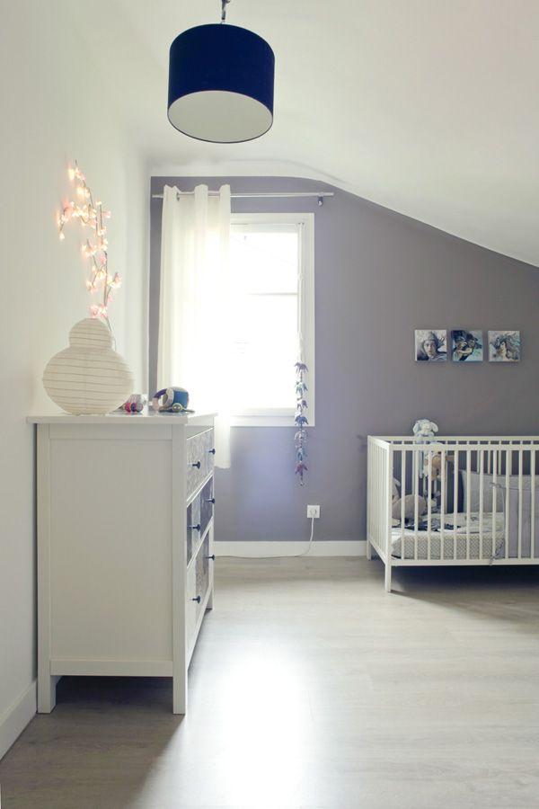 Une jolie chambre pour bébé custo Chambre Bébé décoration Nursery garçon fille baby bedroom boys girls enfant diy home made fait maison
