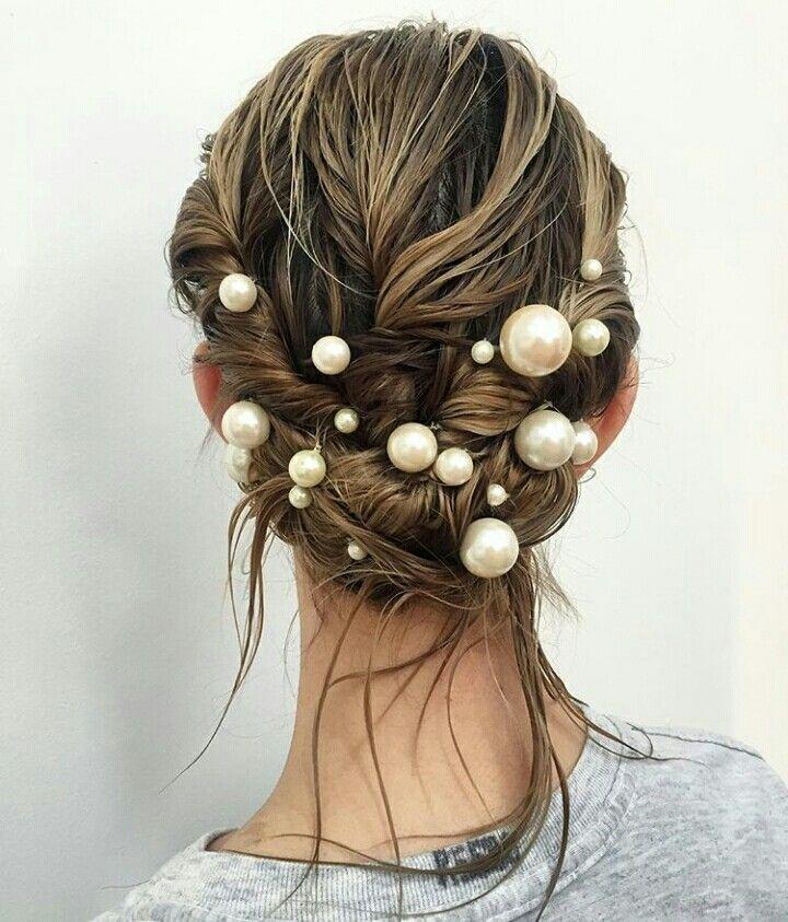 #pearls #hair
