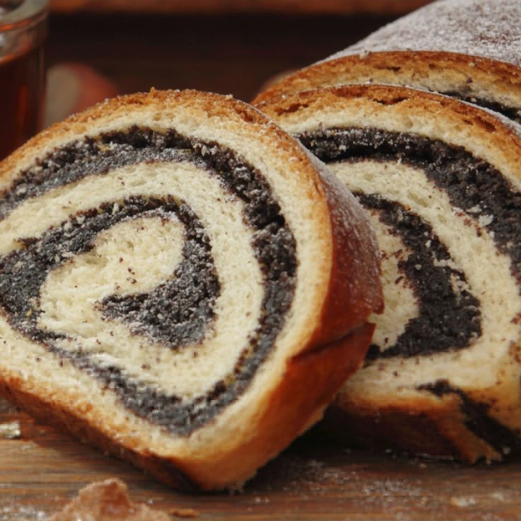 Use this poppy seed bread roll recipe to bake two loaves of tasty bread that would be wonderful with an afternoon cup of tea. . Poppy Seed Bread Recipe from Grandmothers Kitchen.