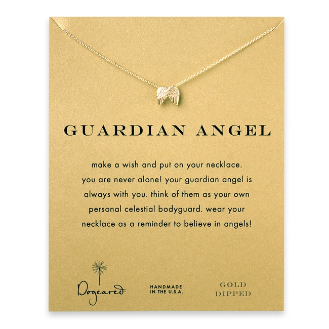 Guardian Angel necklace... I want this!