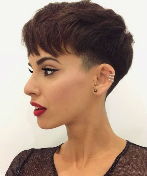 Easy Short Edgy Haircut Styles 2019 for Women to Try Right Now