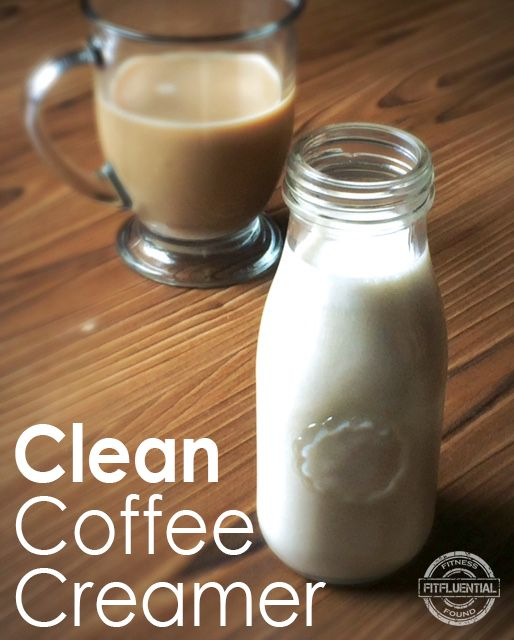Clean (and Affordable!) Coffee Creamer - FitFluential