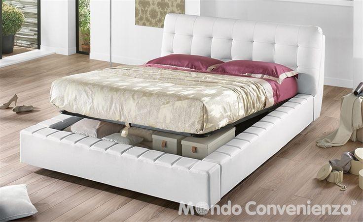 Oltre 25 fantastiche idee su testiera letto contenitore su - Rivestimento letto contenitore ...