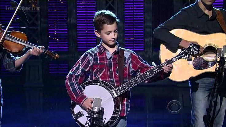 9-Year-Old Plays Banjo on David Letterman Show - Sleepy Man Banjo Boys AHH i got to see these guys in Concert some day
