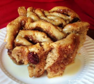 nom nom nom  Brioche Cinnamon Scrolls from Quirky Cooking.