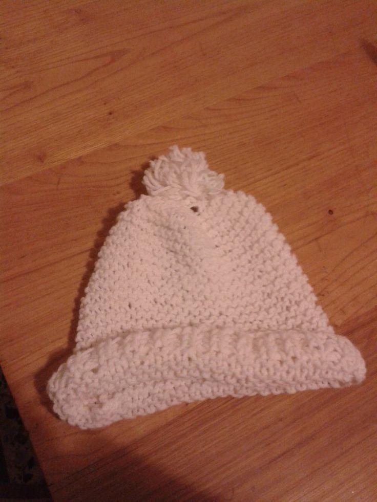 Cappello/berretto con papion bianco, by Fantasie in legno di Geppetto B, 10,00 € su misshobby.com