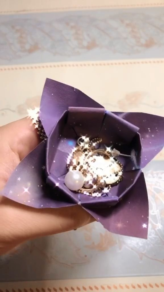 Jewelry boxes 15+ Origami and Paper Art Video to Help You Master the Art of Paper Folding