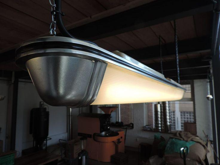 U Bahn Lampe Loft Bauhaus Art Deco Industrielampe Berlin Mauer Fabriklampe