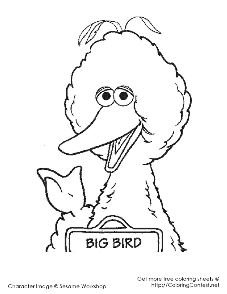 sesame beginnings coloring pages - photo#17