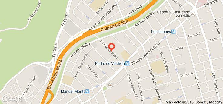 2/1 50m la concepcion-providencia $390+x