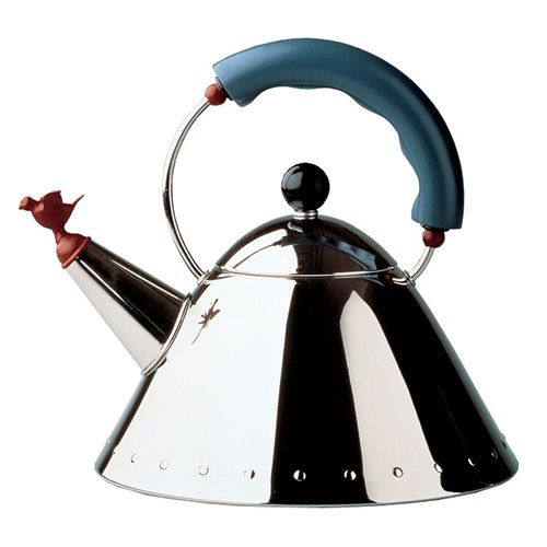 Alessi Bird Kettle Alessi 9093 by Michael Graves for Alessi Italy