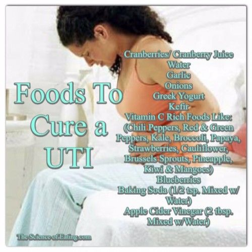 Urinary tract infections (UTIs) are caused by bacteria and are 10 times more common among women than men. Some alternative therapies can be helpful for UTIs, and here are some foods that will help!
