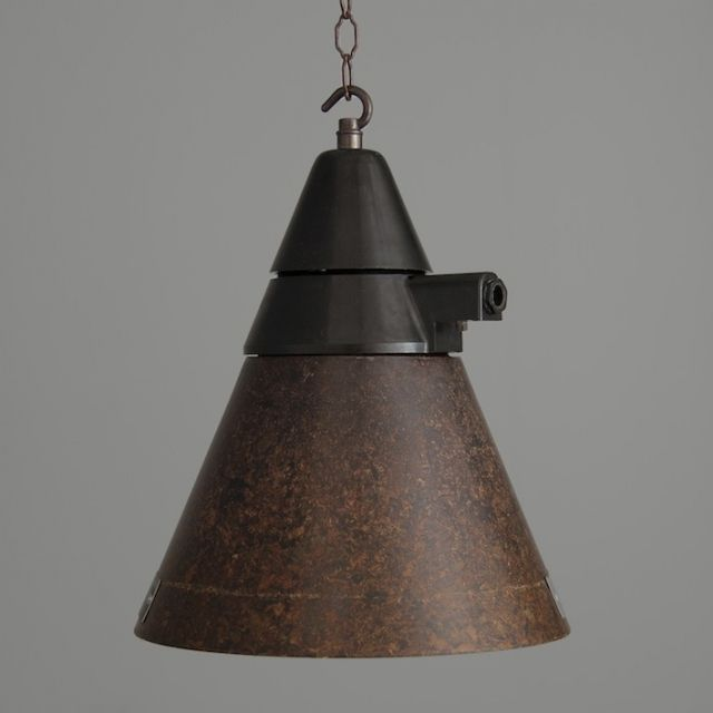 czech industrial pendant lights made from bakelite