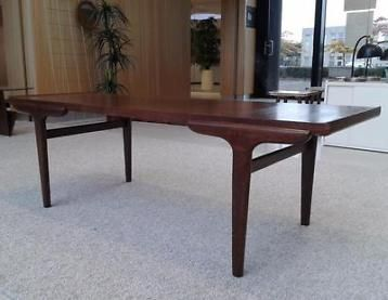Vintage design salontafel, retro tafel jr 50 60 sidetable