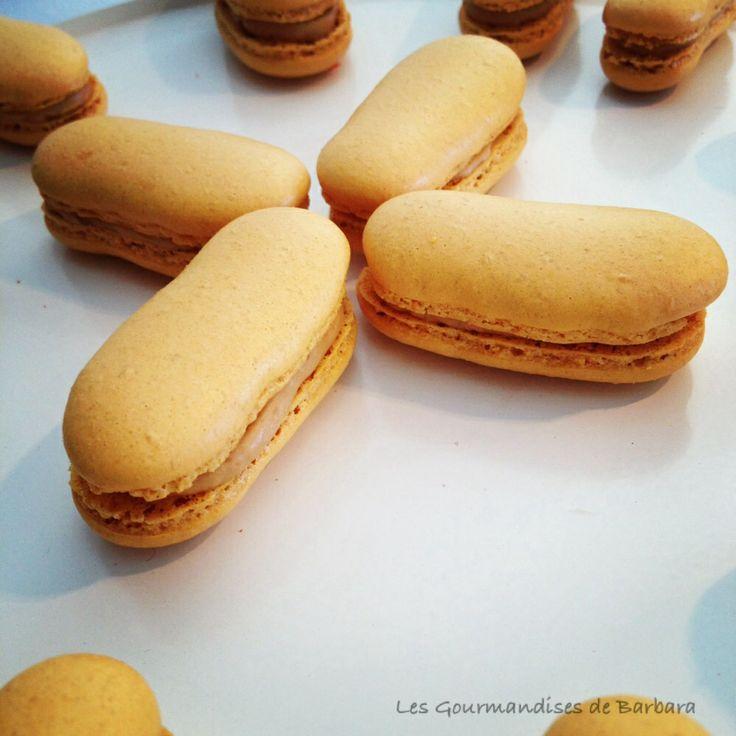 macarons Fingers au foie gras