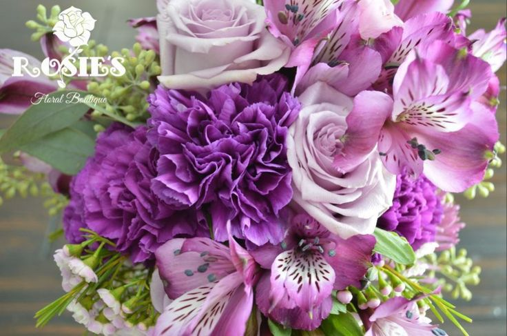 Purple Flowers For October Wedding : Images about sarah s rustic purple wedding on