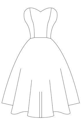strapless dress template other dresses dressesss