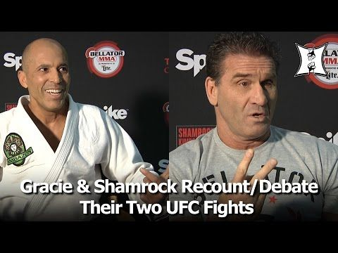 Bellator's Royce Gracie & Ken Shamrock Recount UFC 1 and UFC 5; Debate Rules + Strategy - YouTube